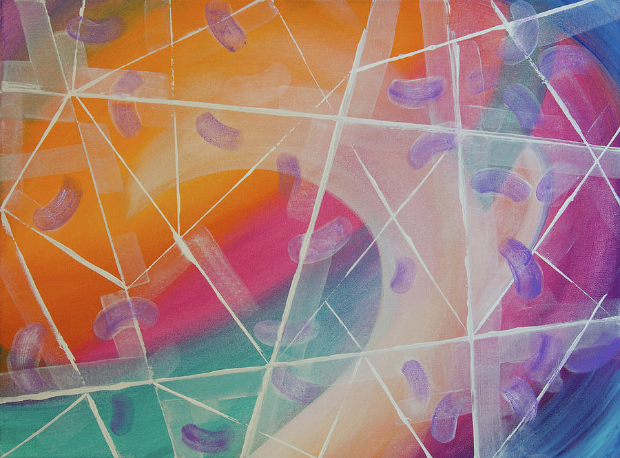 Crystal Prism Painting