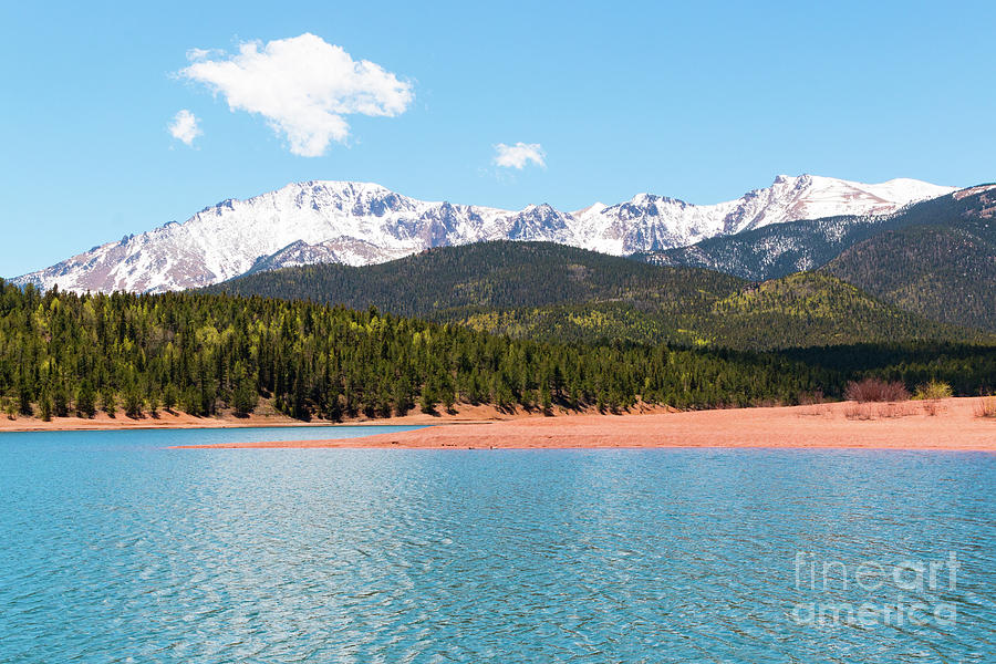Crystal Reservoir And Pikes Peak Photograph