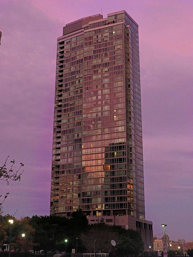 Crystal Skyscraper Sunset by Farol Tomson