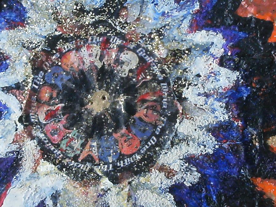 Unusual Mixed Media - Crystalized Emotion by Anne-Elizabeth Whiteway