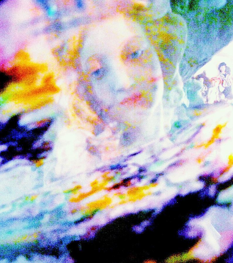 Lady Painting - Crytsal by HollyWood Creation By linda zanini