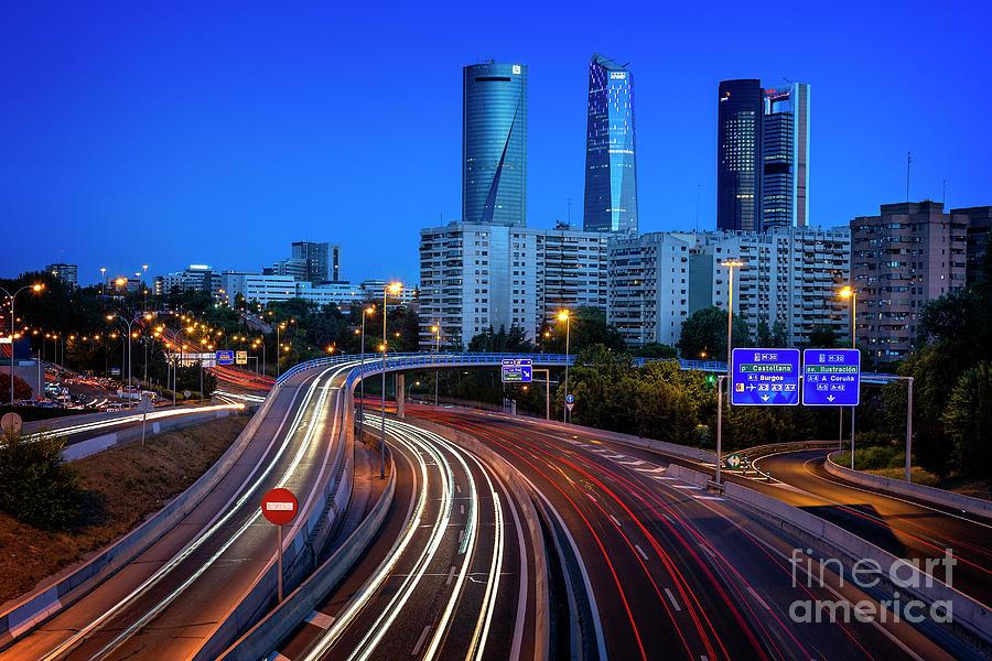 Madrid - Cuatro Torres Business Area by Hernan Bua