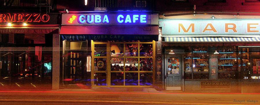 Cuba Cafe Photograph by Joseph Hedaya