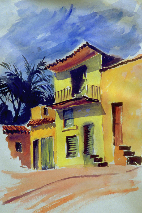 Cuban Architecture Photograph by Mike Goldstein