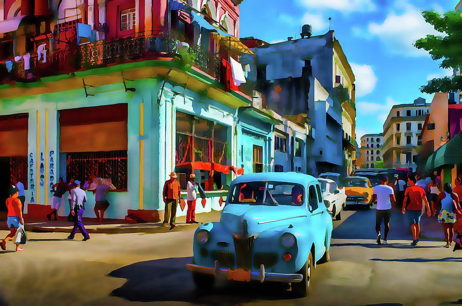 Cuba Painting - Cuban Art Painting by Frank Paul Lee