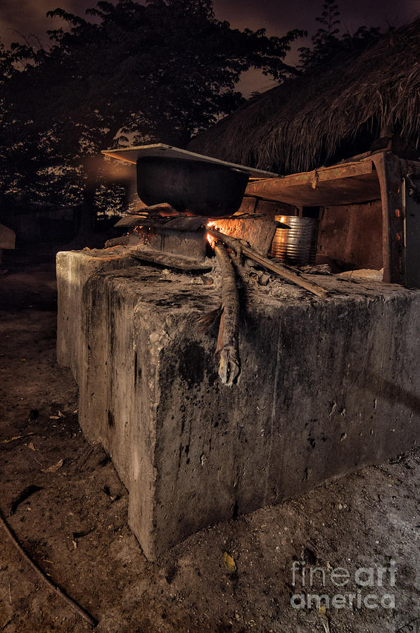 Cuba Photograph - Cuban Farmer Cuisine  by Jose Rey