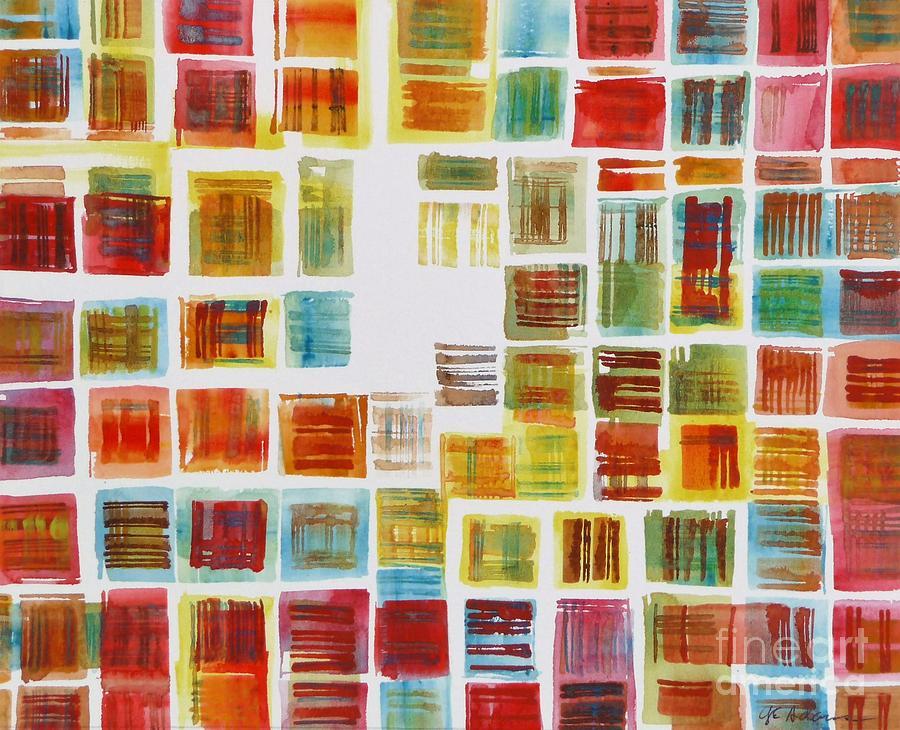 Cube Farm by CHERYL EMERSON ADAMS