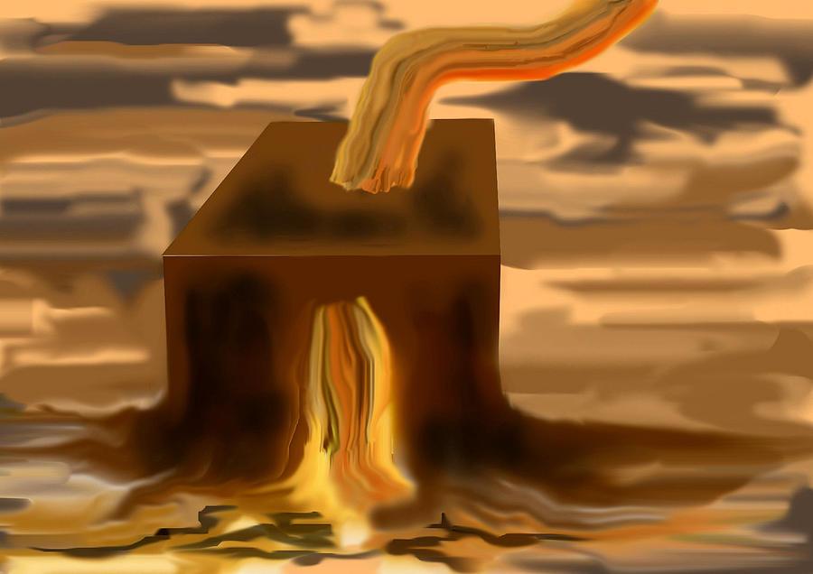 Cubeog Digital Art by Carlos Contreras