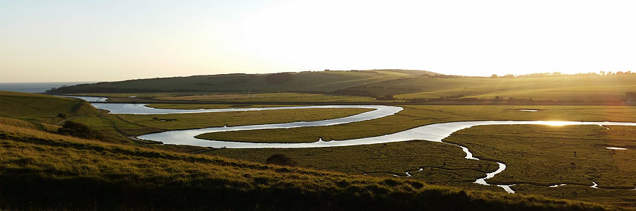 Cuckmere Panorama by Julian Perry