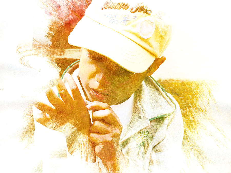 Special Photograph - Cuenca Kid 902 - Adinea by Al Bourassa