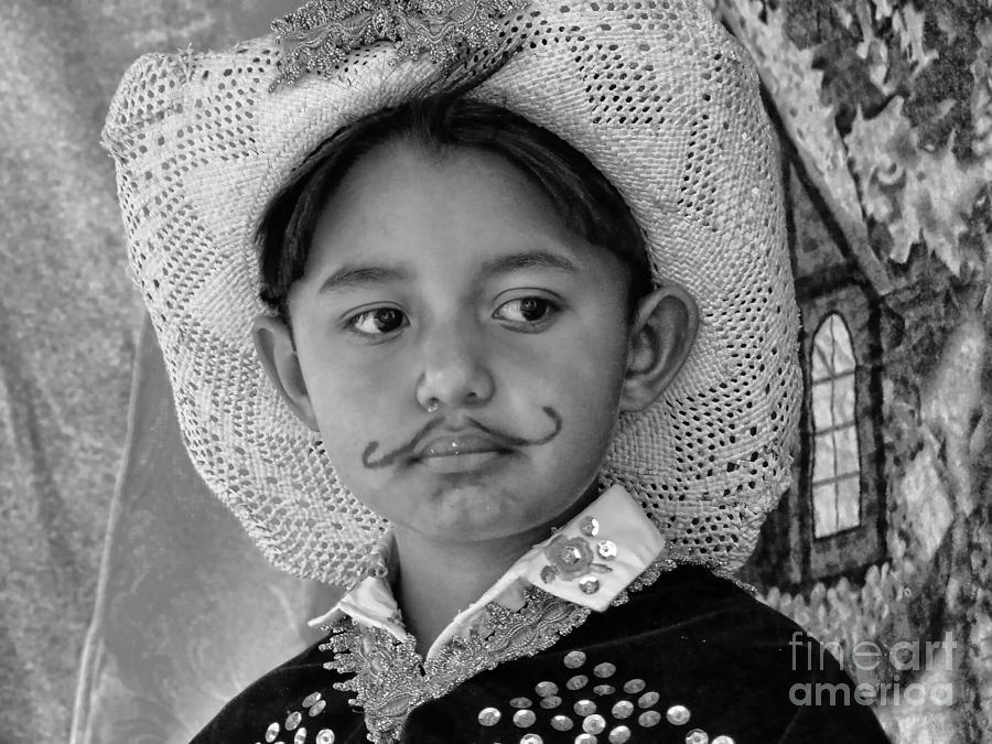 Expression Photograph - Cuenca Kids 883 by Al Bourassa