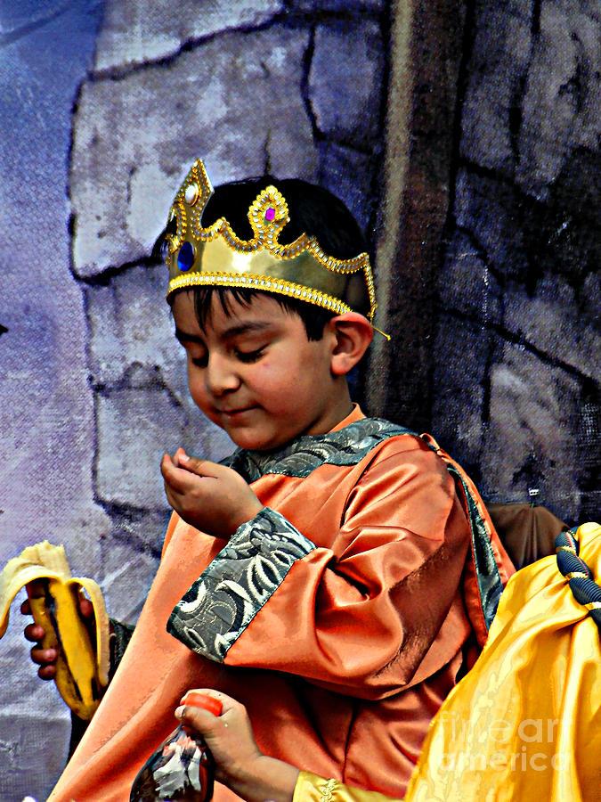 Boy Photograph - Cuenca Kids 903 by Al Bourassa