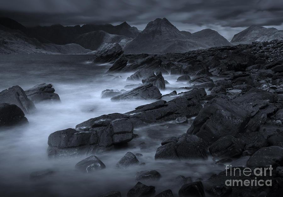 Scotland Photograph - Cuillin From Elgol by David Lichtneker