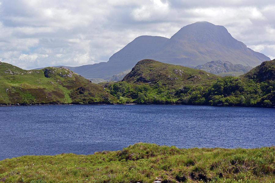 Loch Photograph - Cul Beag and Meall Dearg by Steve Watson