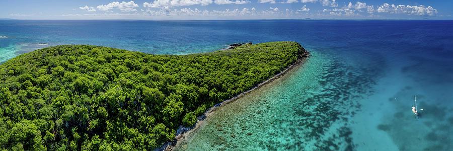 Culebra anchorage by Gary Felton