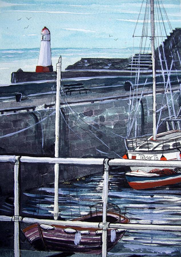 Cullen Painting - Cullen Beacon by Trudy Kepke