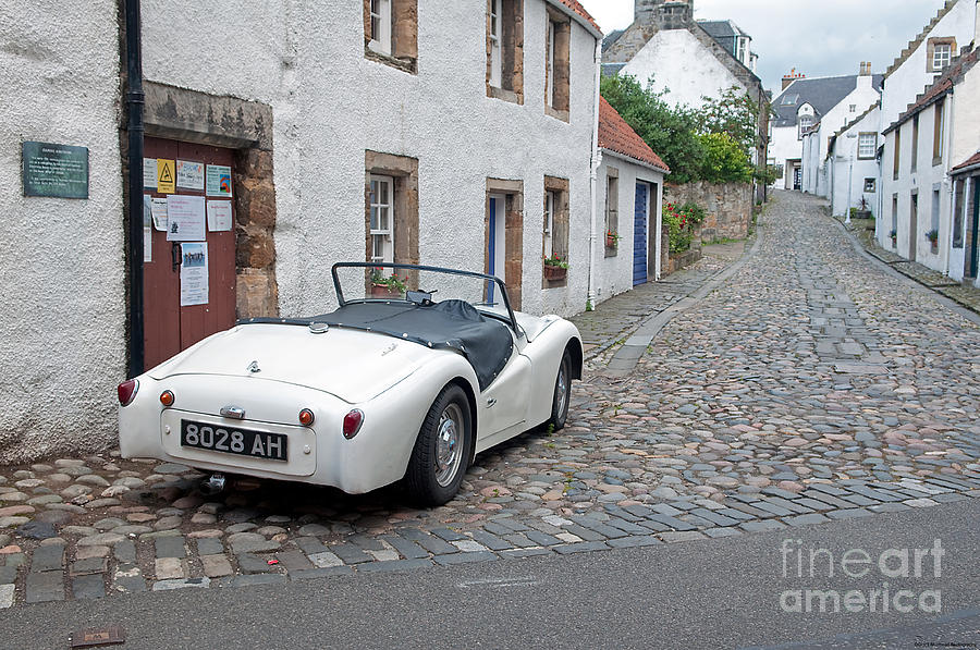 Street Photograph - Culross by Grant Muirhead
