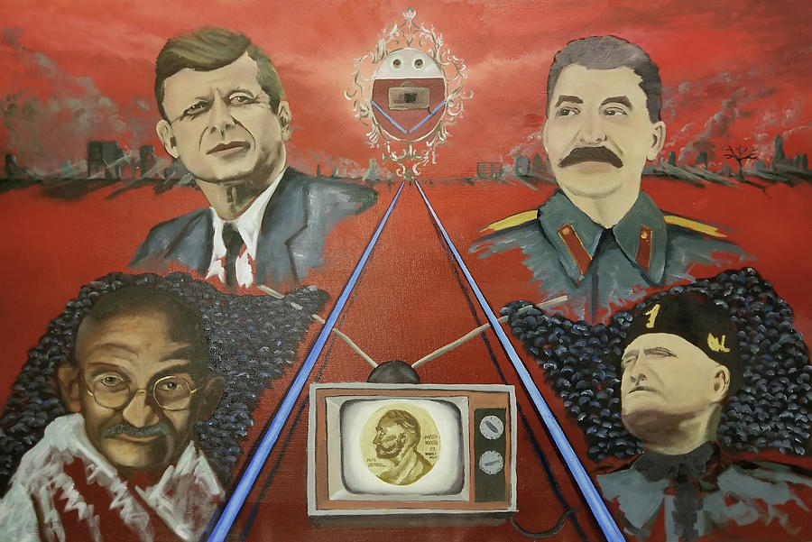 Cult of Personality Painting by Josef Pena