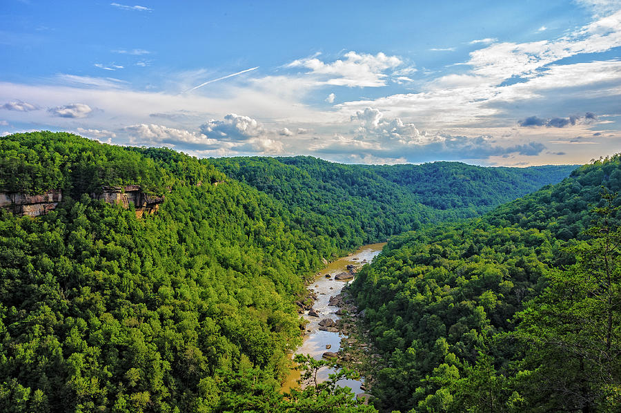 Landscape Photograph - Cumberland Gorge by Barry Fowler