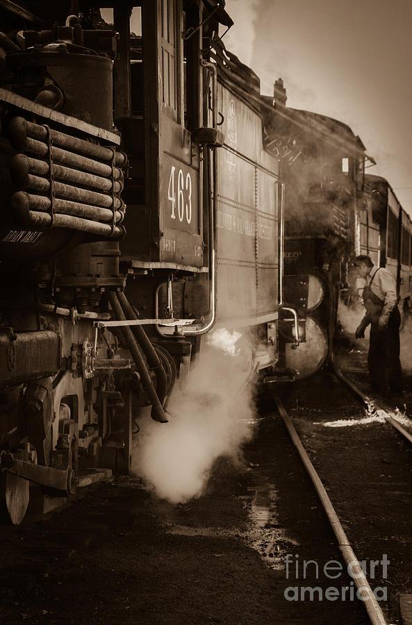 Cumbres And Toltec Photograph - Cumbres and Toltec Steam Train  by Scott and Amanda Anderson