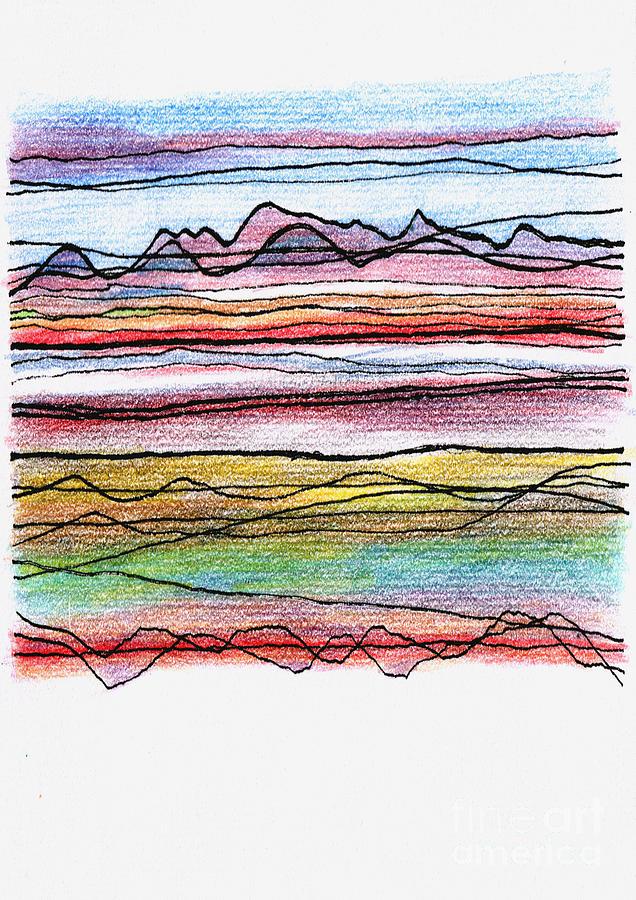 Cumbria Digital Art - Cumbria Lines  by Andy  Mercer