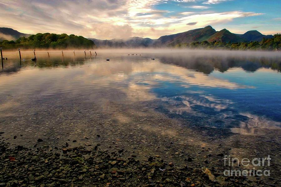Keswick Photograph - Cumbrian Autumn by Nick Wardekker