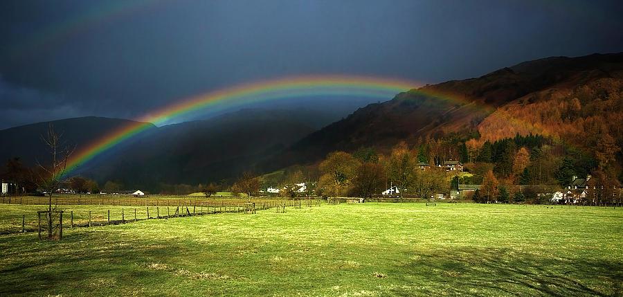 Cumbrian Rainbow by Meirion Matthias