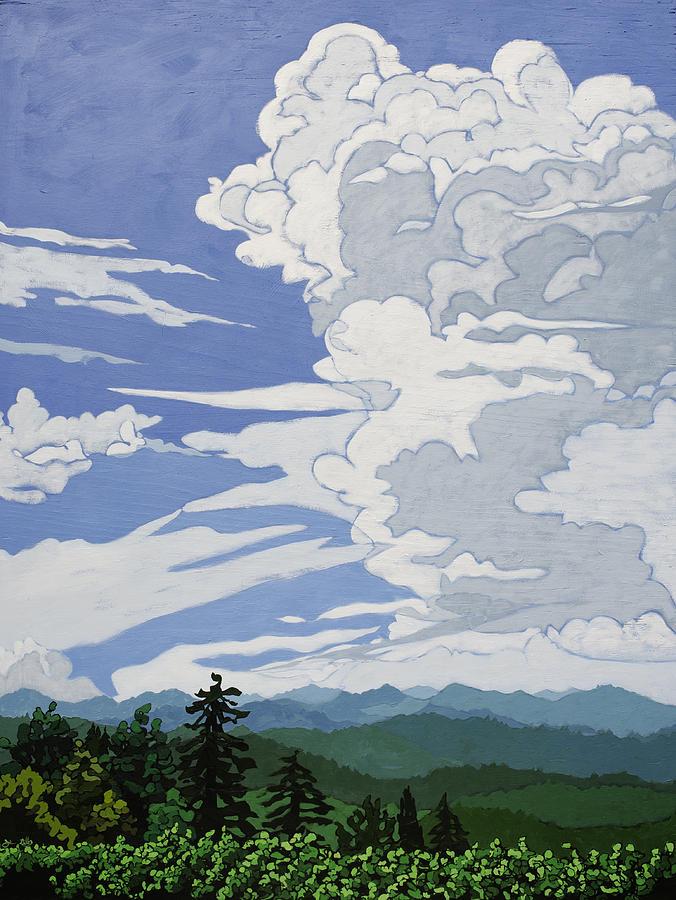 Cumulonimbus Afternoon by John Gibbs