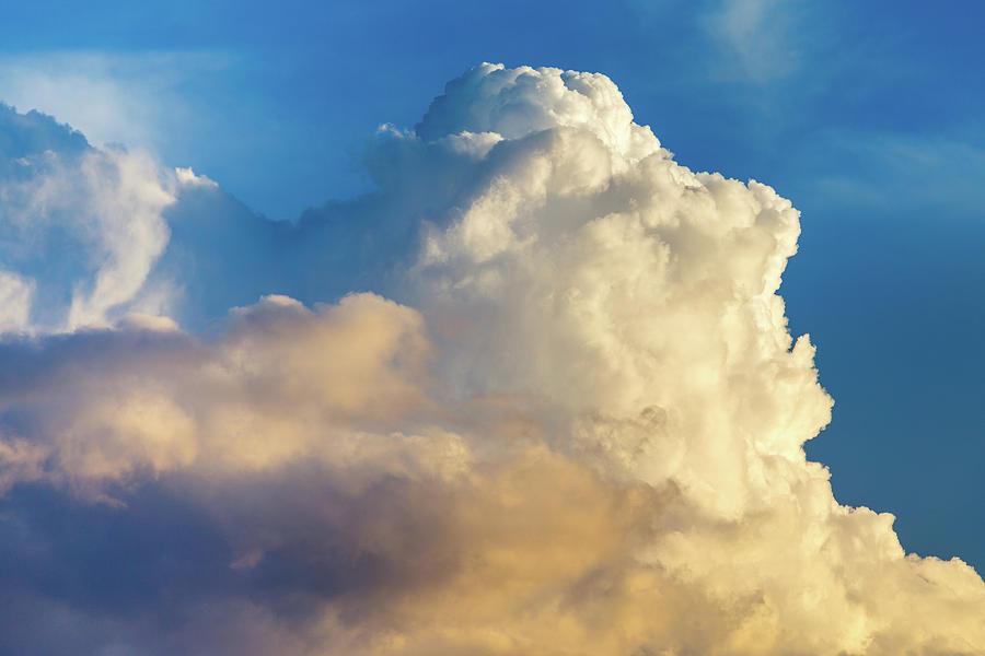 Cumulonimbus Calvus Cloud Photograph by SR Green