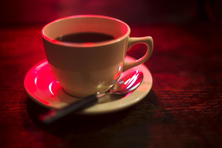 Coffee Christmas Morning.Cup Of Coffee Christmas Morning