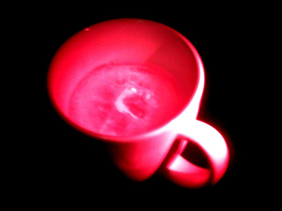 Red Photograph - Cup Of Passion by Tyrone Paz