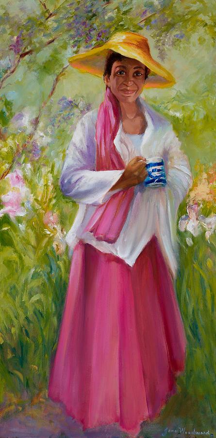 Jane Woodard Painting - Cup Of Tea? by Jane Woodward