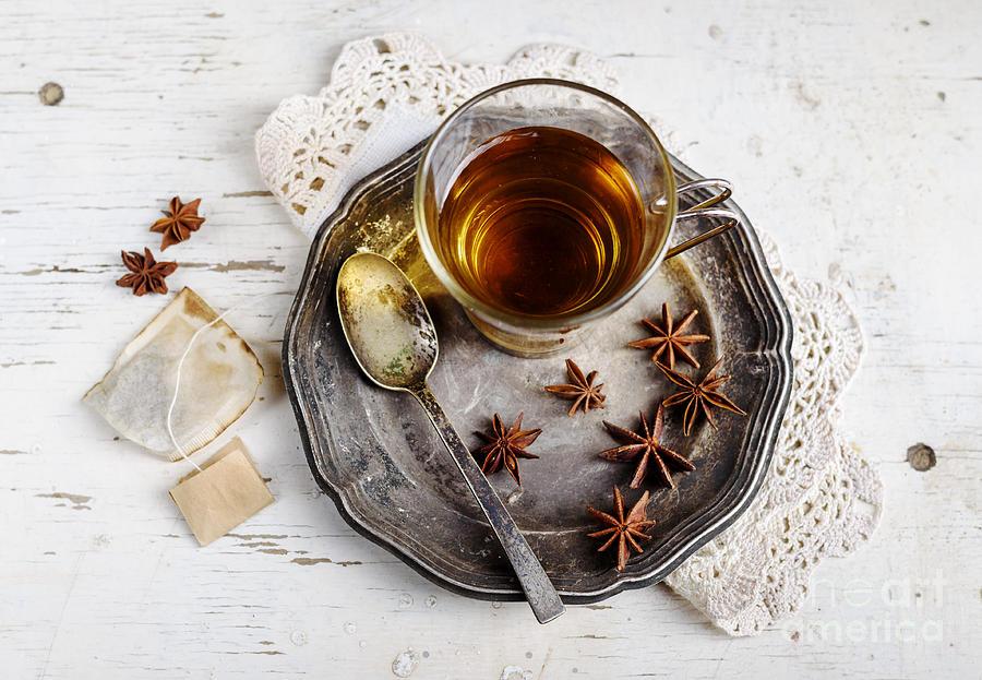 Tea Photograph - Cup Of Tea by Jelena Jovanovic
