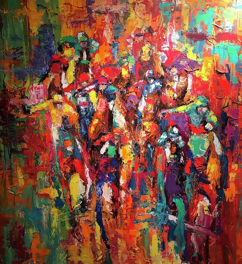 Breeders Cup Painting - Cup Runneth Over by Heather Roddy