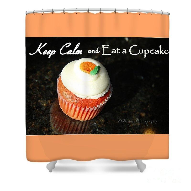 Superbe Keep Calm Photograph   Cupcake Shower Curtain Kip Krause By Kip Krause