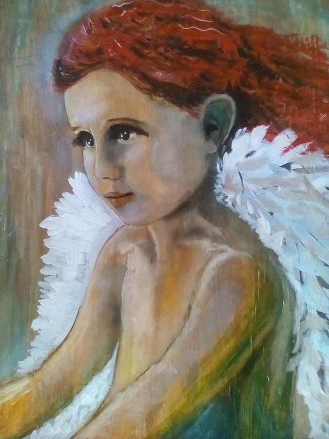 Cupid Watching Painting