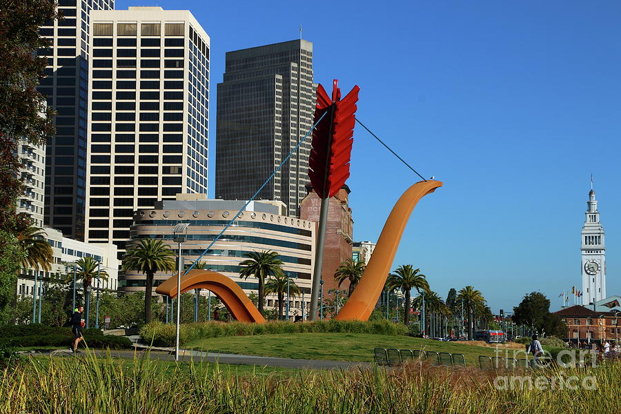 San Francisco Photograph - Cupids Span At The Bay by Christiane Schulze Art And Photography