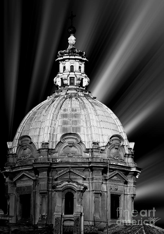 Architecture Photograph - Cupola in Rome by Stefano Senise