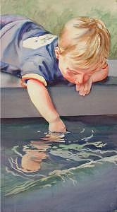 Curious Painting by Marlene Gremillion
