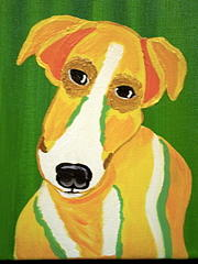 Pet Portraits Painting - Curious by Suzanne Filotei