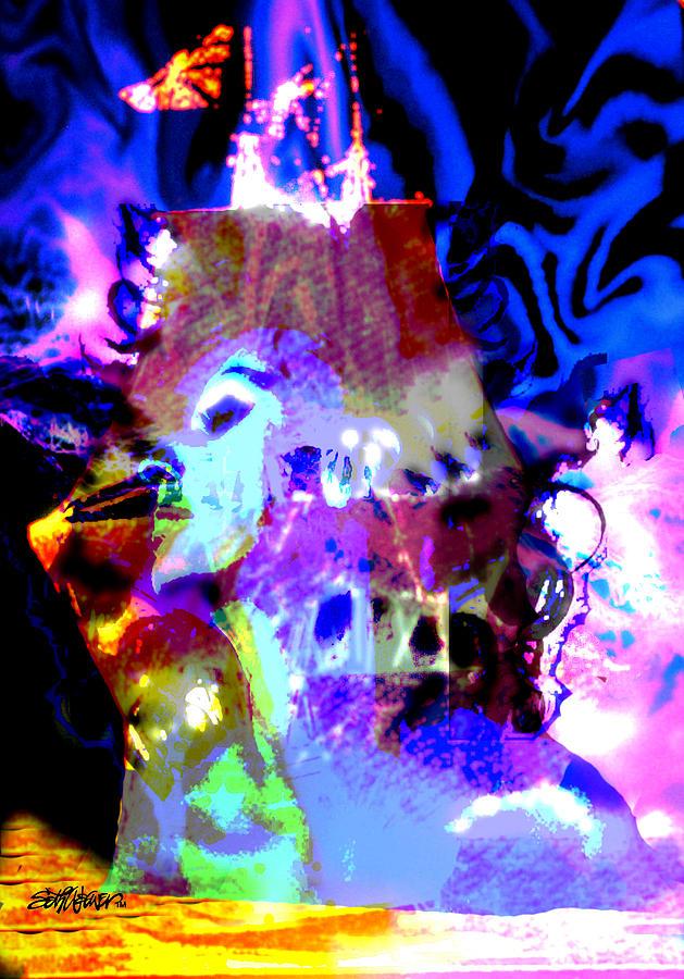Sea Digital Art - Curse of the Sea Witch by Seth Weaver
