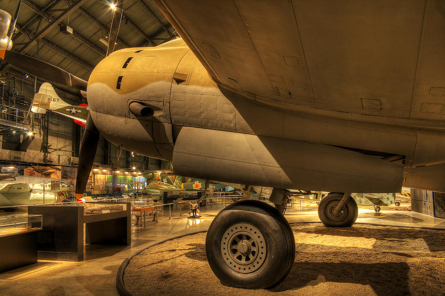 Curtiss C-46D Commando by David Dufresne