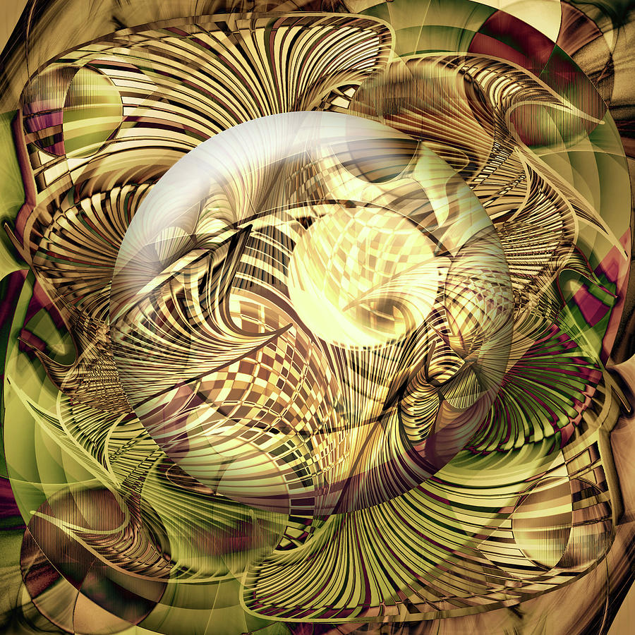Digital Digital Art - Curvacity by Andy Young