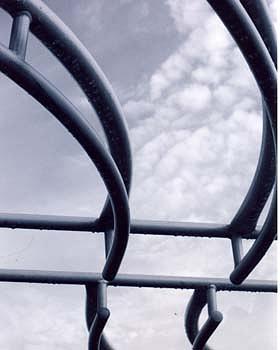 Sky Photograph - Curves Of Steel by Jennifer Ott
