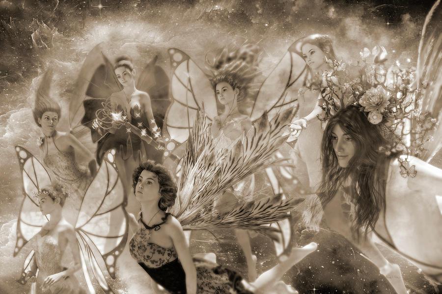 Surreal Digital Art - Custom 0566 One For Everyone by Betsy Knapp