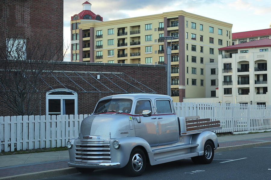 Chevrolet Photograph - Custom Chevy Asbury Park Nj by Terry DeLuco
