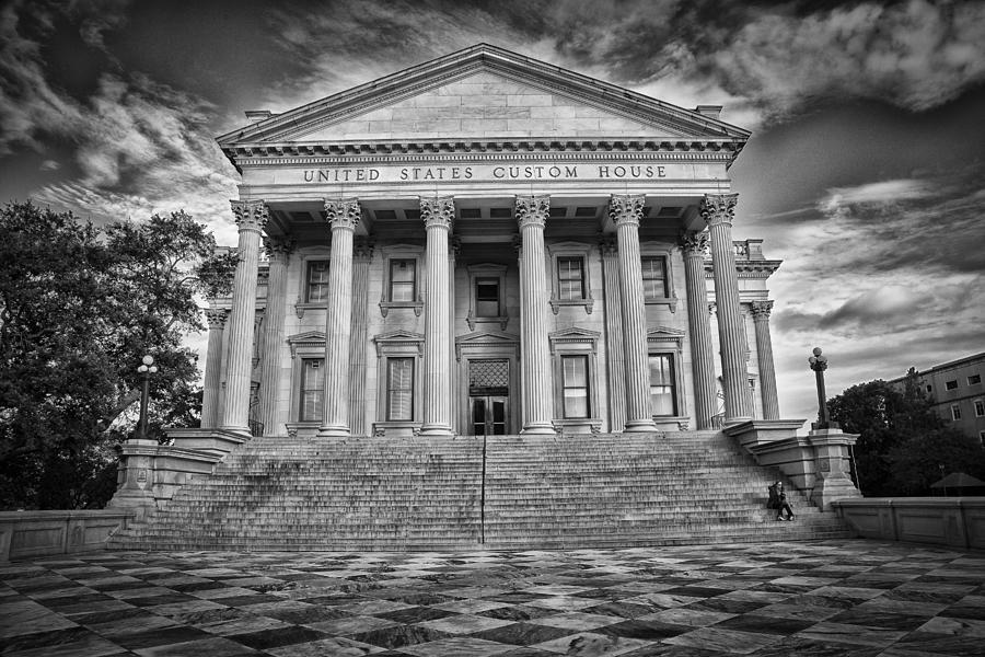 Charleston Photograph - Custom House by Paul Shappirio