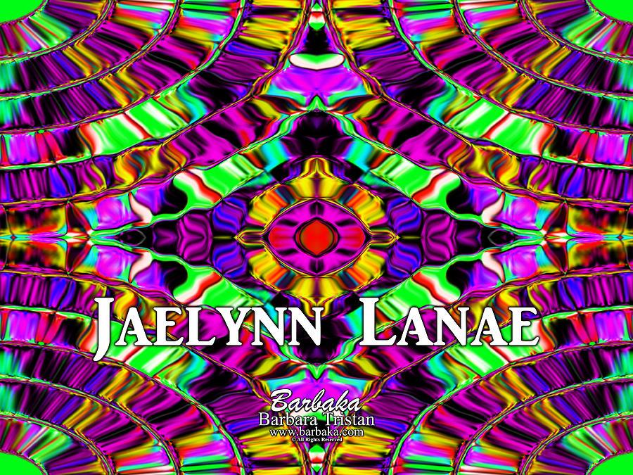Creative Energy Digital Art - Custom Order Jaelynn Lanae by Barbara Tristan