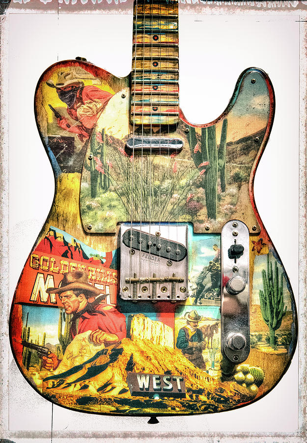 Custom Vintage WesternTelecaster by Christopher Cutter