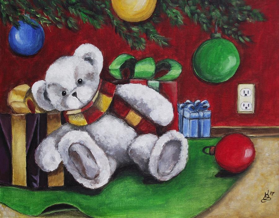 Acrylic Painting - Cute And Festive by Kim Selig